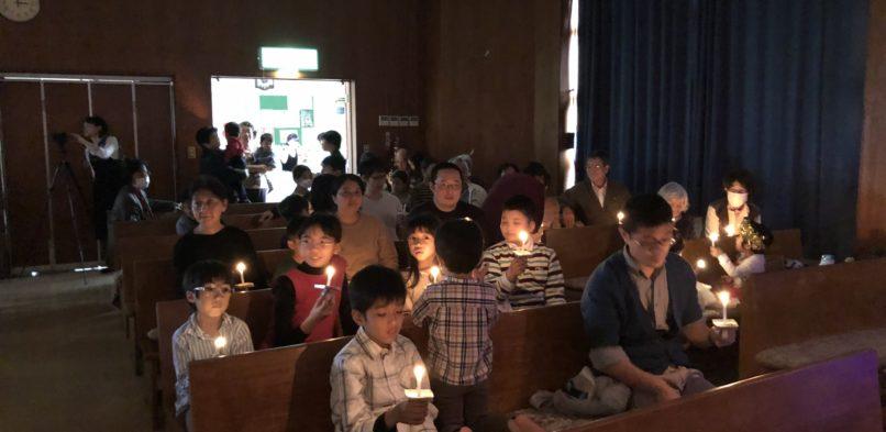 石川教会こどもクリスマス会